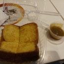 Smoked Cheese French Toast with Kaya ($2.80)