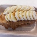 Peanut Butter Maple Banana Toast ($4.50) 15/08/19