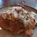 Almond croissant ($3.50)