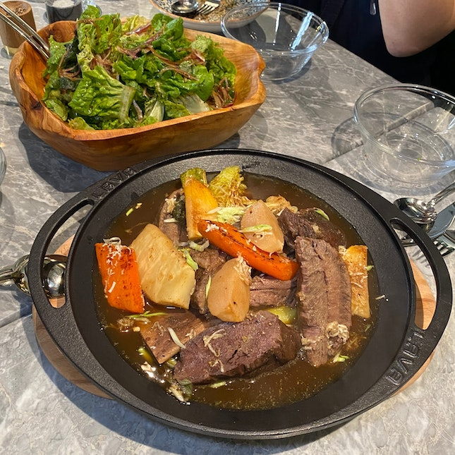 """The """"Pot-eu-feu"""" ($128++) Is Great Value For Money And Very Hearty."""