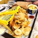 Seabass Fish & Crisps