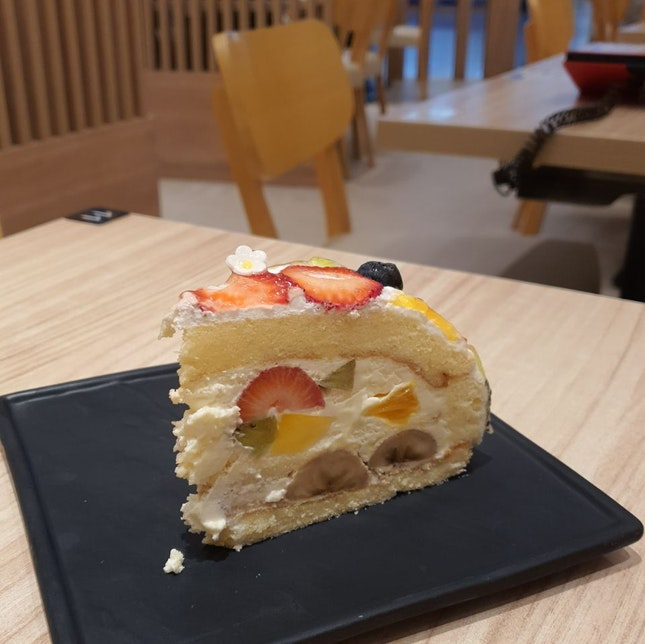 Mixed Fruits Dome Cake