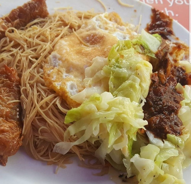 Fried beehoon at Holland Village