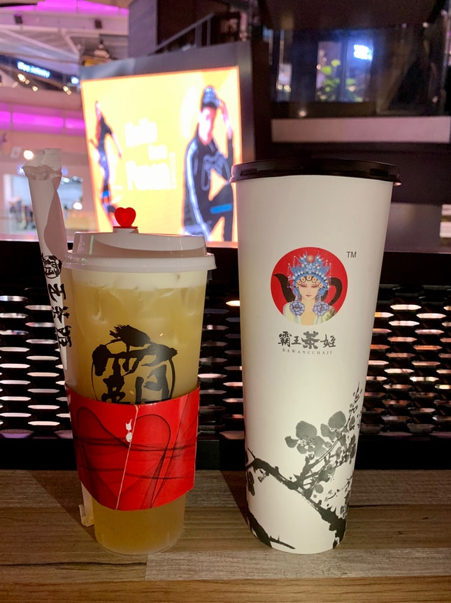 9.9 Fave Deal: 1 Green Tea Latte, 1 Peach Jasmine Green Tea (700ml)