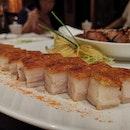双拼 Crackling Pork, Black Chashu Etc