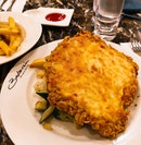 Breaded Chicken With Cheese