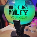 SGD99++ for this cocktail balloon (3 litres) @holeymoley_clarkequay  Initially it tasted quite weak but it only kicks in after a while.