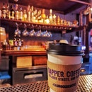 Dapper Coffee is a hidden coffee place that serves really good coffee.