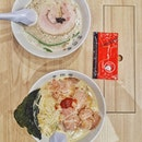 Tried the famed @kanadaya.sg and chose the famous truffle ramen.