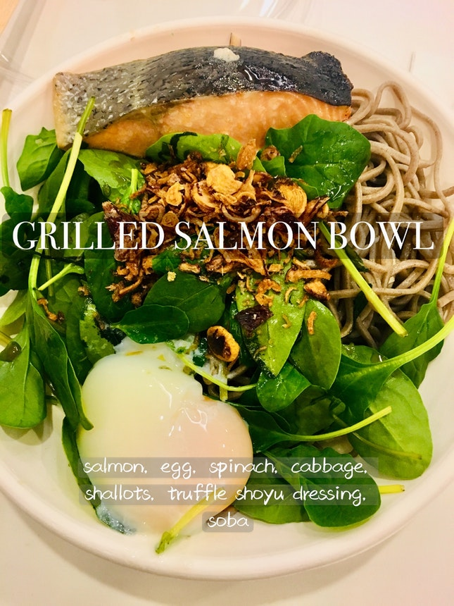 Grilled Salmon Bowl