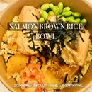 Salmon Brown Rice Bowl