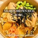 Salmon Brown Rice Bowl