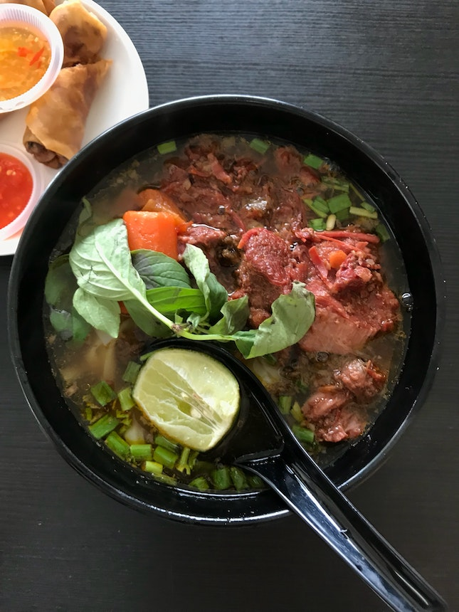 Beef Stew Noodles (RM9.50)