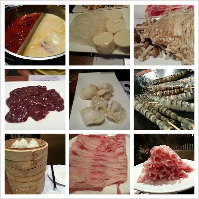 Crystal Jade XLB dinner buffet.