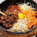 Dolsot (hotstone) bibimbap from Sunny Korean Cuisine!
