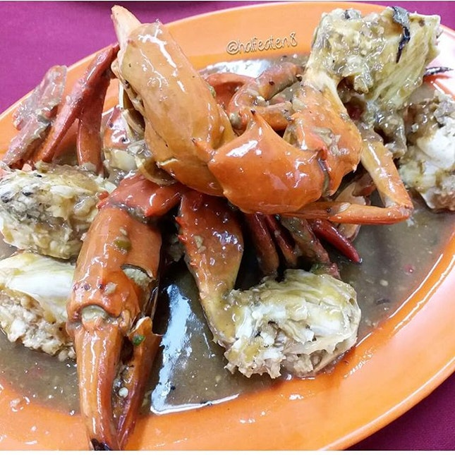 Crab in Special Sauce from Fatty Crab!