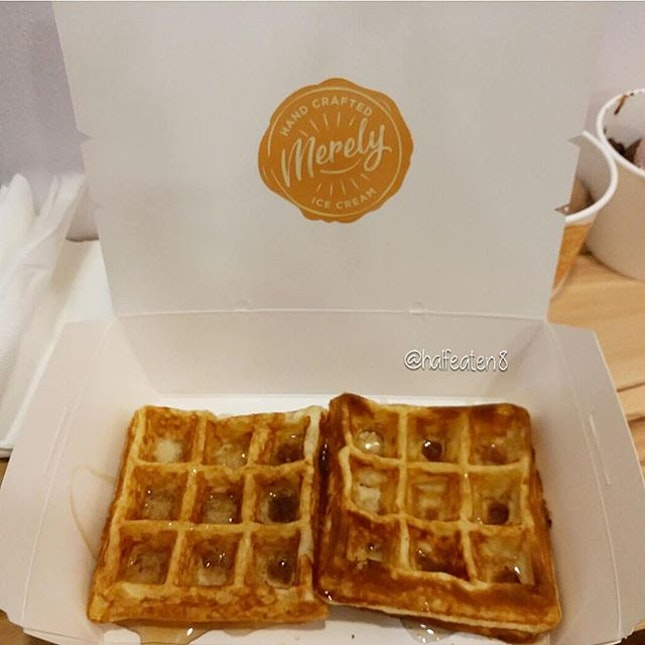 Waffles from Merely Ice Cream!
