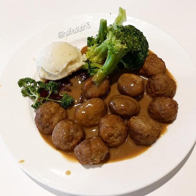 Meatballs from IKEA!