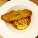 Assam Pasta with Dory Fish from Spagtacular!