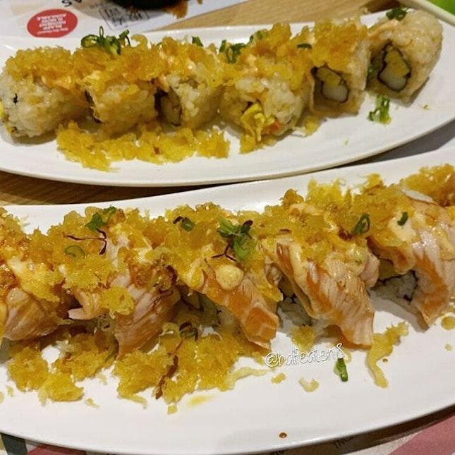 Makis from Itacho Sushi!