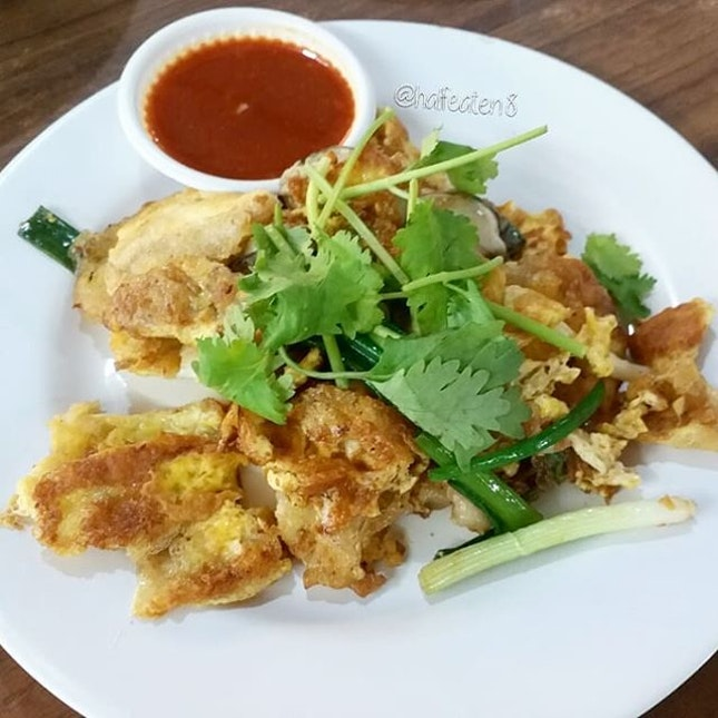 Fried Oyster Omelette from Balestier Market!