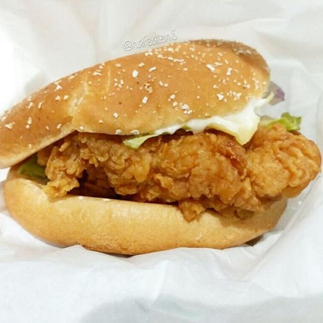 Mighty Zinger from KFC!