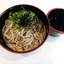 Cold Soba from Genki Sushi!