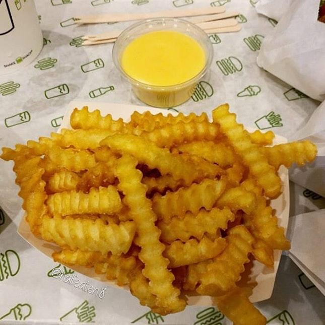 Cheese Fries from Shake Shack!