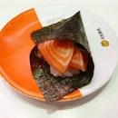 Salmon Handroll from Genki!