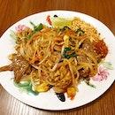 Beef Pad Thai from Pope Jai Thai!