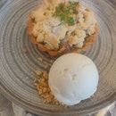 William Pear Crumble Tart (Burpple Set Part3)