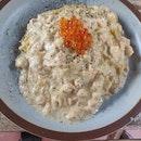 Miso Salmon Pasta