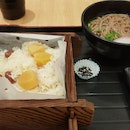Red Bean And Chestnut Okawa With Soba Set