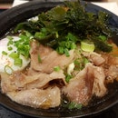 Pork With Egg Udon