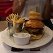 Burger And Ribs