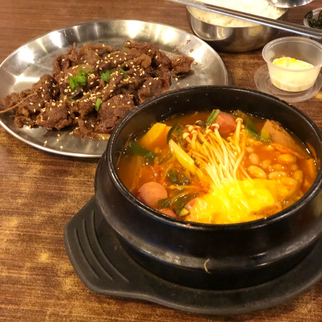 Beef Bulgogi And Army Based Stew