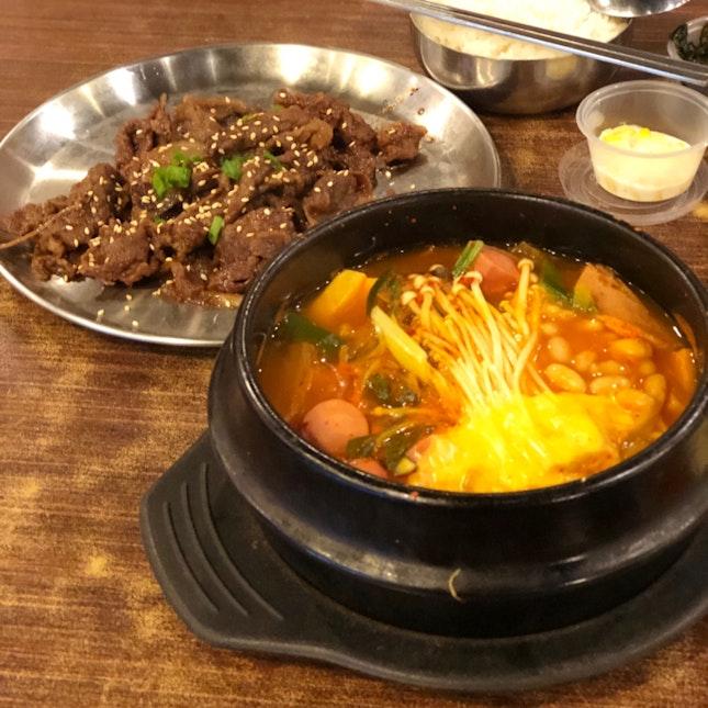 Beef Bulgogi And Army Based Stew