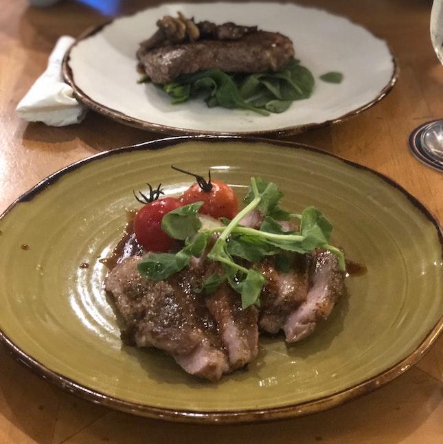 Iberian Pork Secreto & Ribeye Steak