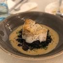 Chilean Seabass, Beef Cheek Tagliatelle & Duck Confit