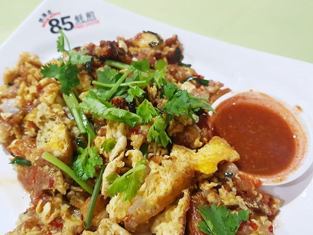 That plate of Fried Oyster omelette...