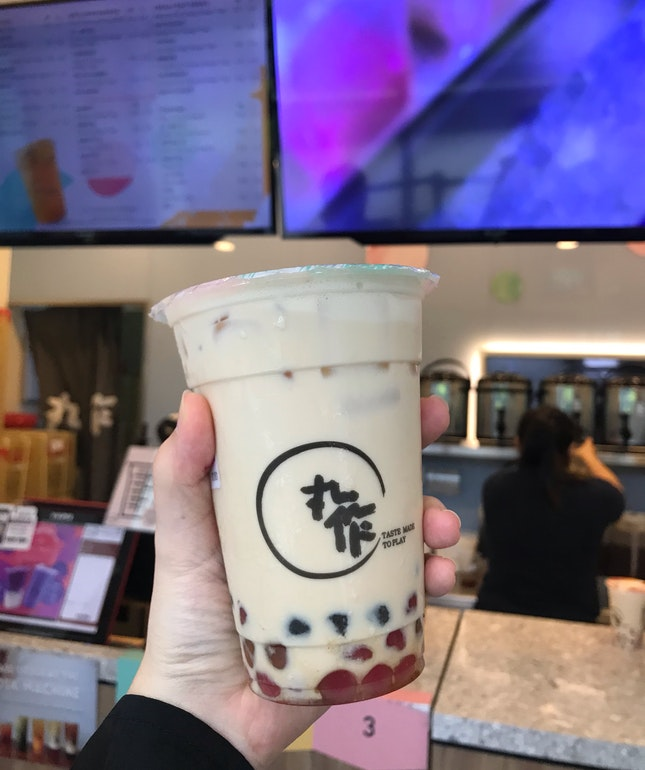 Milk Tea With 3 In 1 Pearl