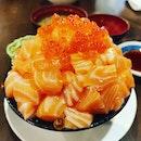 Sake Bakumori Don 👍🏻👍🏻👍🏻👍🏻 $24++ .