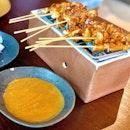 Sate Ayam Madura ($19)