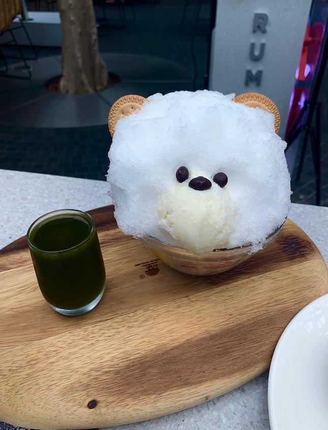 Shiro Kuma W Green Tea Syrup