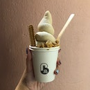Cookie Butter Soft serve ($6)