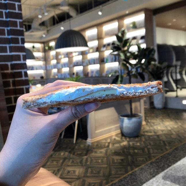 Earl Grey Toast ($3.50)