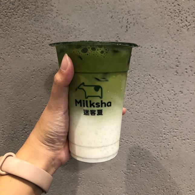 Izumo Matcha Fresh Milk ($5.60)