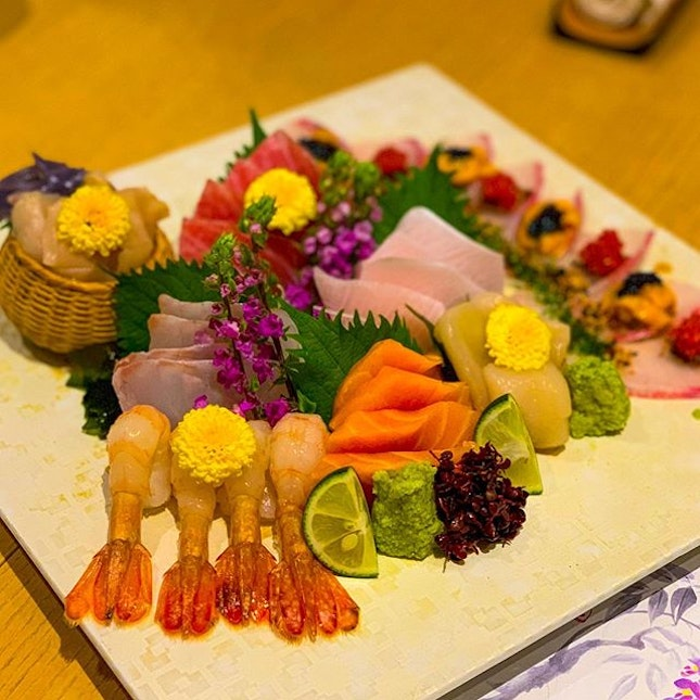 Best sashimi that you can find out of Japan.