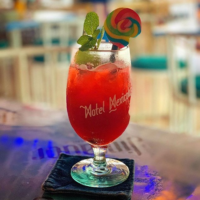 With drinks this pretty, how can you just stop at one?