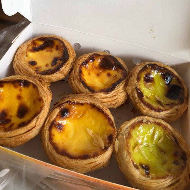 Portuguese Egg Tarts.